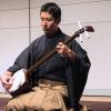 Сямисэн — музыкальный инструмент из кошачьей кожи