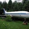 Боинг 727 — дом в лесу